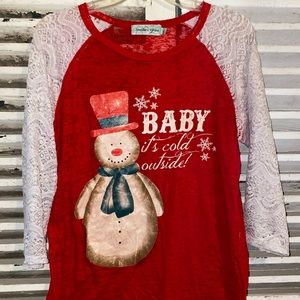 Christmas Baby It's Cold Outside Shirt